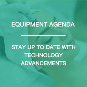 Equipment Agenda - Stay up to date with technology advancements